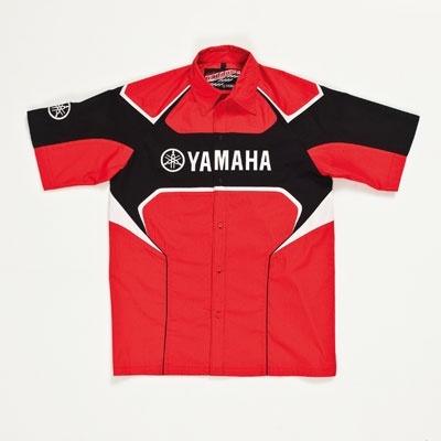 7ae9c8ddb6e Pánská košile Paddock Red — Příslušenství — Yamaha Brno